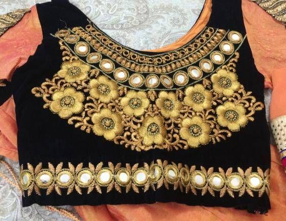 Buy Designer lengha choli  Online Vapi at Low Prices in India - Shopo.in