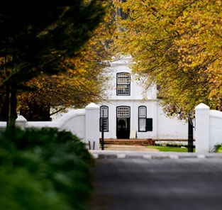 Dutch Colonial/Dutch Cape Architecture - Lanzerac Stellenbosch - South Africa