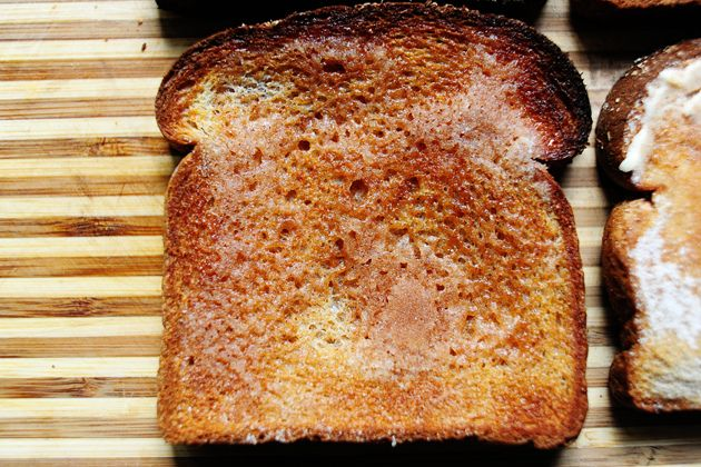 """the """"right"""" way to make cinnamon toast - PW"""