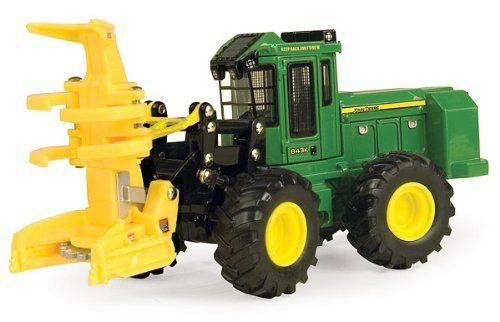 ERTL 45207 - 1/50 scale - Logging by ERTL. $30.99. John Deere 843K Wheeled Feller Buncher This replica is made of diecast metal and plastic construction. The front feller head raises and lowers and functions just like the real thing.