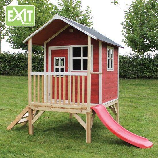 Perfect Maisonnette Enfant Loft 300 Rouge