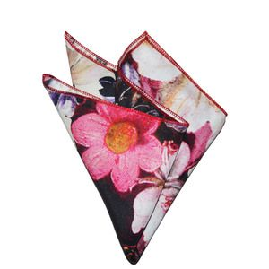 Candy Blooms Pocket Square