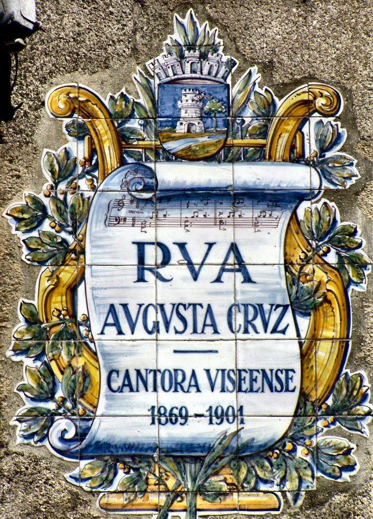 VISEU. Rua Augusta Cruz, Portugal