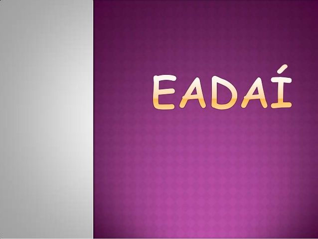 Eadaí by LRoseH via slideshare
