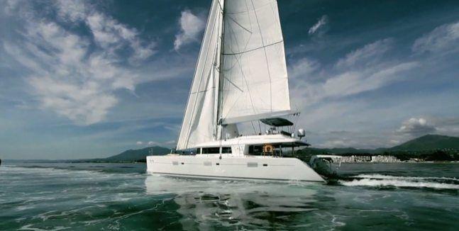 Luxury Catamaran Sailboats | FOXY LADY | Luxury Catamaran | Sailing vacations | BVI Charters ...