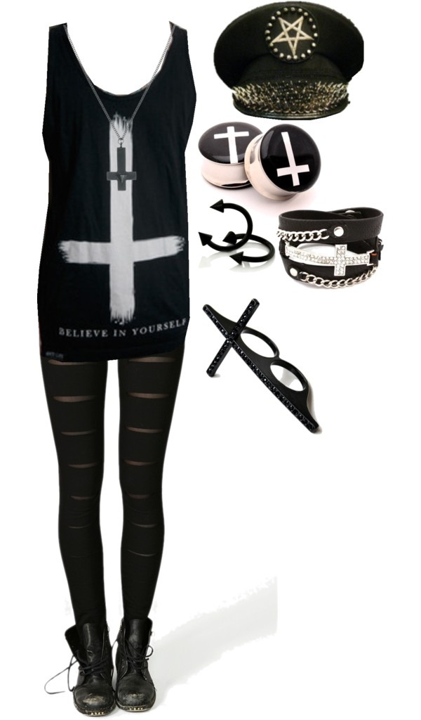 """Believe In Yourself"" by bvb3666 ❤ liked on Polyvore"