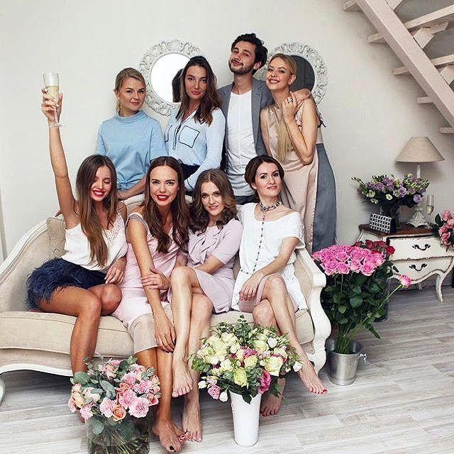 Команда мечты  #ялюблюсвоюработу  #моикрошечки  #work #лучшийколлектив #makeup #beauty #moskow by tipmip