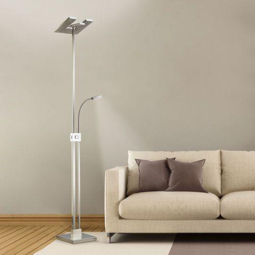 LED-Stehleuchte-2900Lumen-Stehlampe-mit-Leseleuchte-Licht-Deckenfluter-Dimmbar