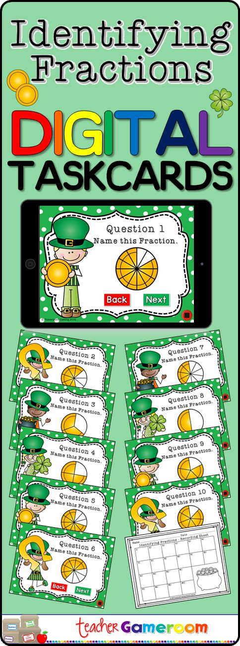 Like traditional task cards, these task cards are digital and can be used on iPads, tablets, and other mobile devices that have Microsoft Powerpoint (just powerpoint viewer). Students answer the question on each card and record the answer on a recording sheets (included). #iteachtoo #teacher #education