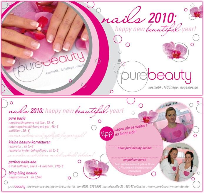 Top 18 best flyer ideeen images on Pinterest | Flyers, Beauty nails  YT19