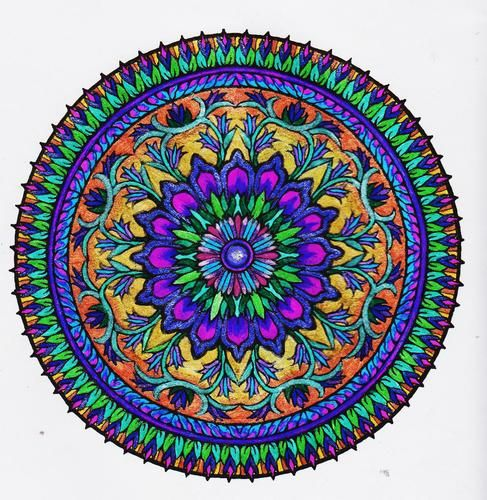 1553 Best Mandala Images On Pinterest Mandala Art Draw