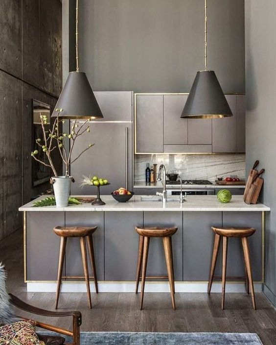 6 Splendid grey kitchens to dream about