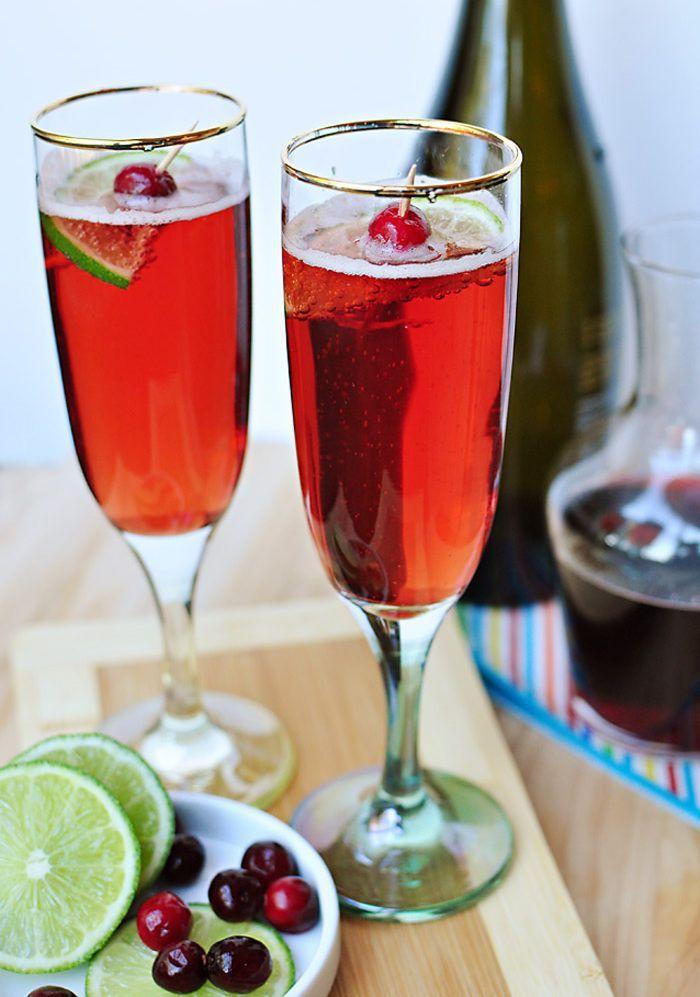 Lika goda som vackra att se på. Här är höstens härligaste drinkar gjorda på cava.
