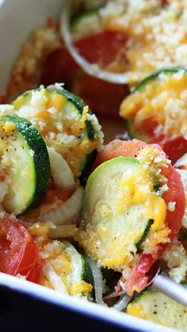 Zucchini And Tomato Bake (1) From: Southern Bite, please visit