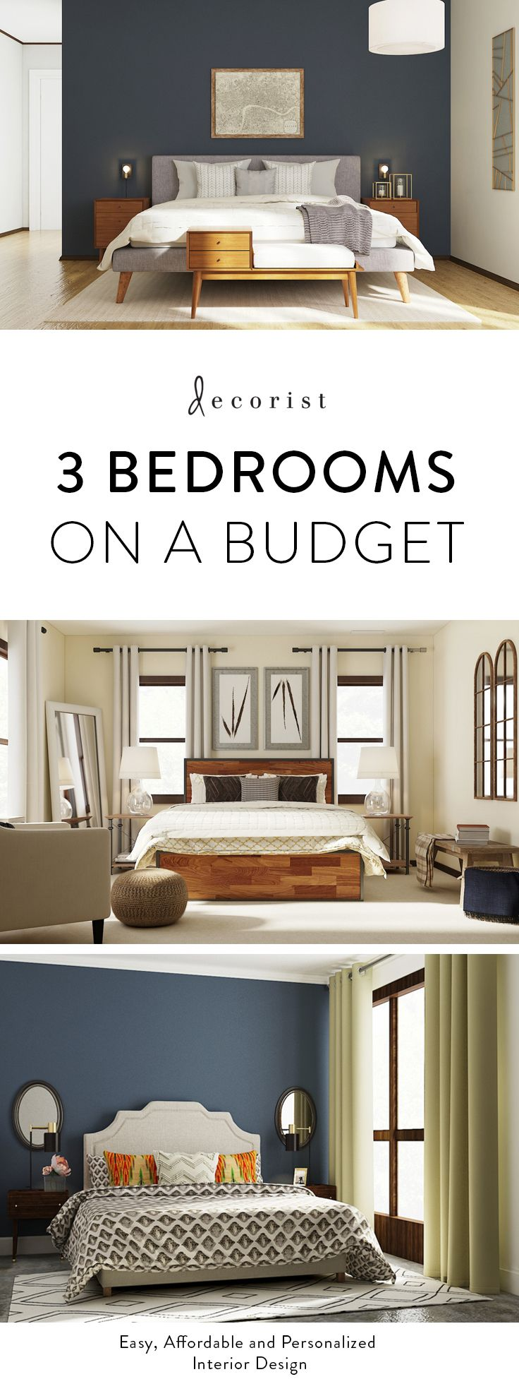3 amazing bedroom transformations on a budget