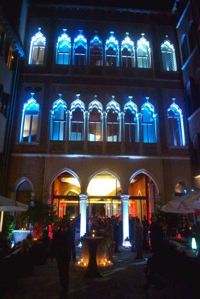 Hotel Centurion Palace  - Diva e Donna Party #hotelcenturionpalace #lights #party #venice #filmfestival #atmosphere