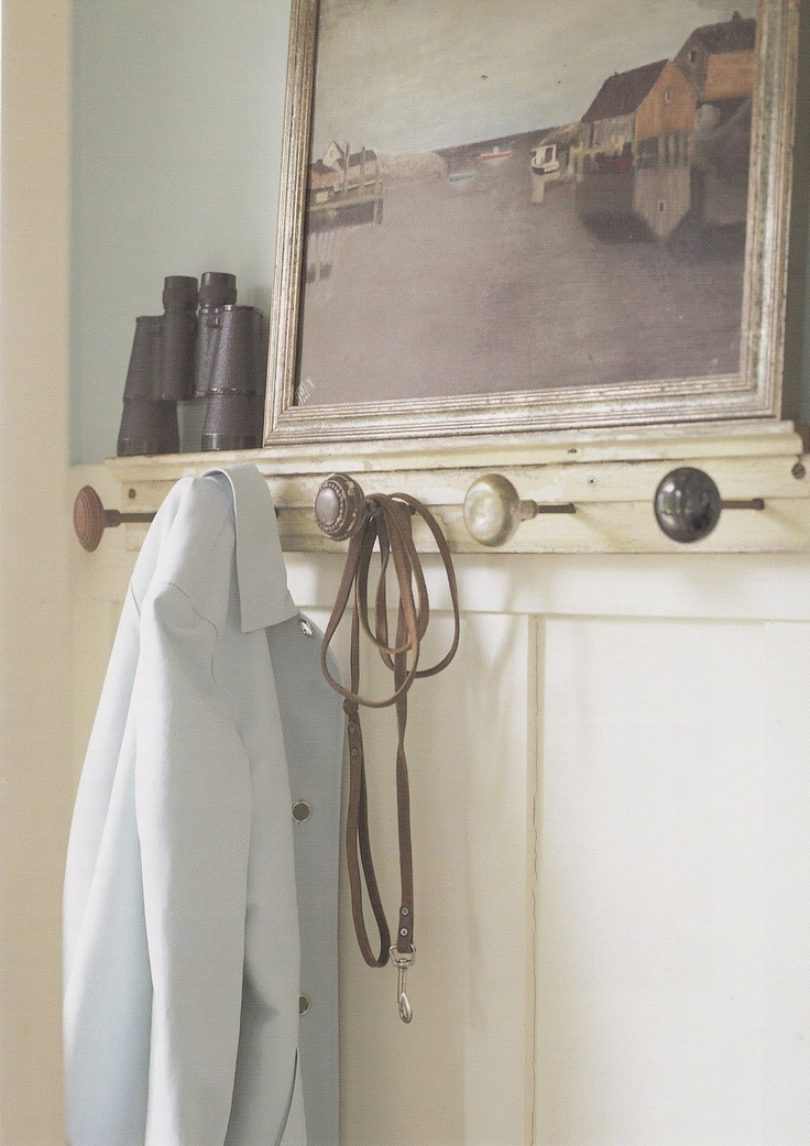 Hmmm. Maybe we could use old door knobs as bridle racks in the tack room.