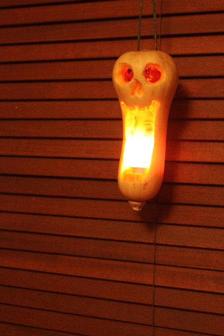 Butternut Squash Halloween Carving Halloween Pumpkins