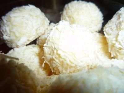 Brigadeyros (кокосовые шарики)