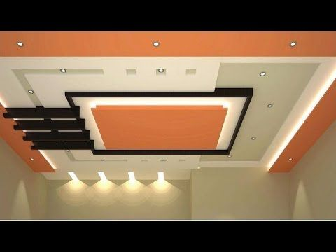 Top 50 Living Room Bedroom False Ceiling Design Ideas with LED Lighting - YouTube