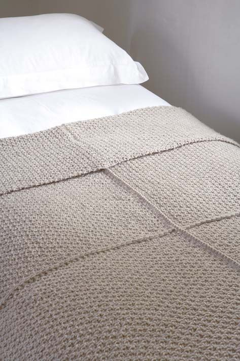 Free Pattern: Warm chunky blanket