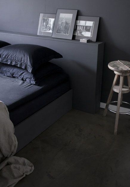 Grijze slaapkamer | Inrichting-huis.com