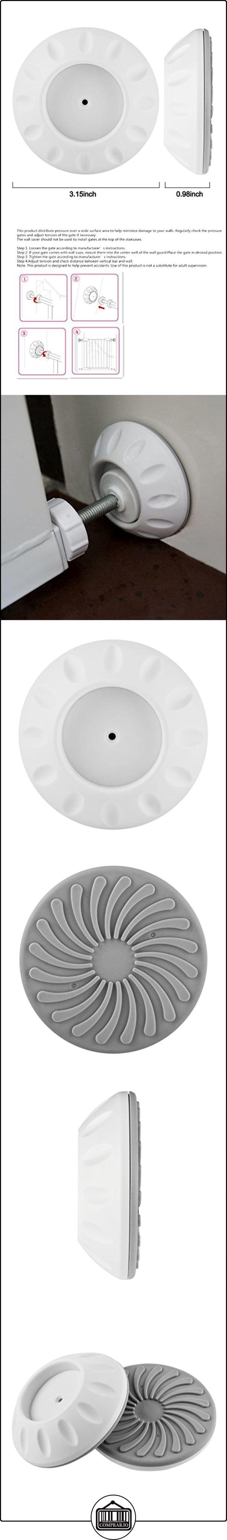 Magiin Kit de 2Pcs Protectores de Pared para Barrera de Puertas y Extensiones Almohadilla Cojín de Protección de Pared para Instalación de Tope de Puerta Barrera de Niños Mascotas  ✿ Seguridad para tu bebé - (Protege a tus hijos) ✿ ▬► Ver oferta: http://comprar.io/goto/B01MA13J42