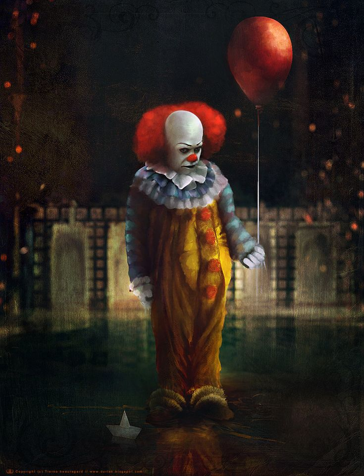 445 best images about creepy scary clowns on pinterest for Killer clown movie