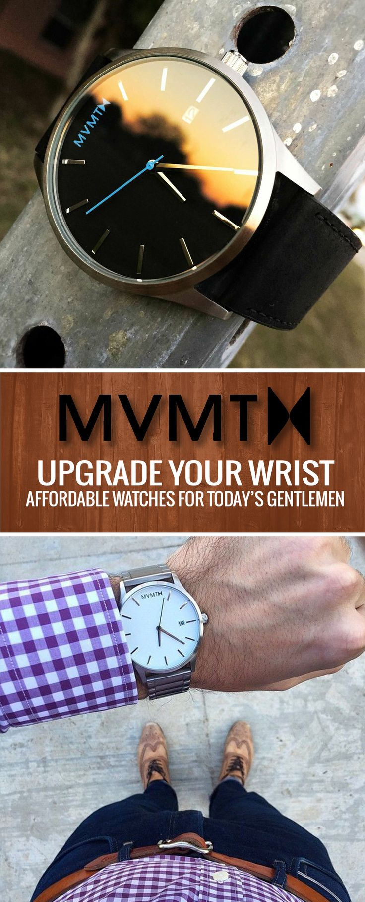 Sporting a beautifully designed watch makes a statement. See why GQ and Playboy rate this as a must have timepiece. Casual to formal, your wrist is covered.
