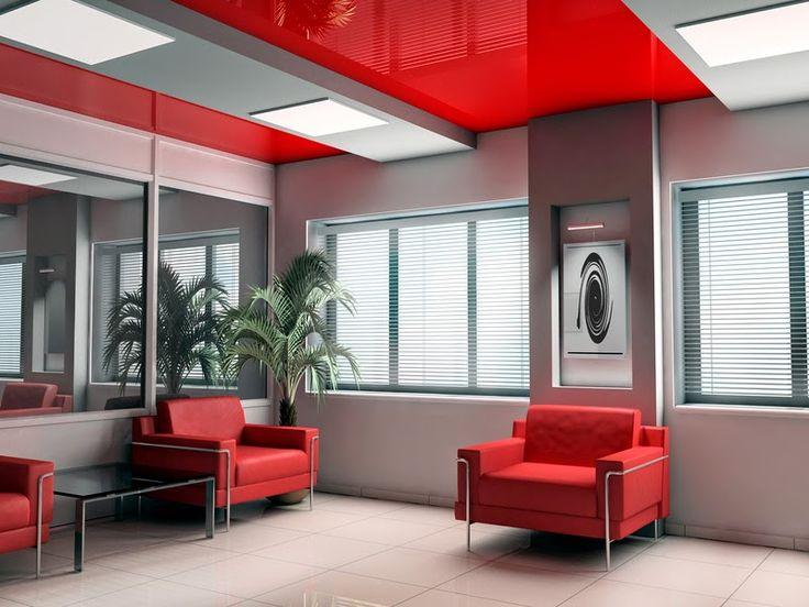 красный натяжной потолок фото - Поиск в Google