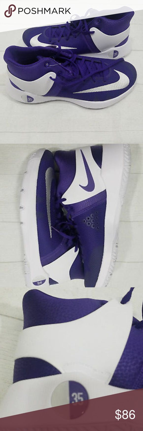 Nike KD Trey 5 IV Purple Basketball Kevin Durant Nike  KD Trey 5 IV Purple  Basketball Shoes  Size 12.5  Kevin Durant  New No Tags Nike Shoes Sneakers