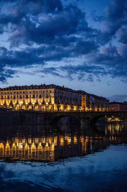 Torino blu, Turin, , province of Turino , Piemonte region Italy. Cannot wait to be in this beautiful city