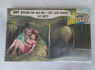 Vintage Bamforth Fitzpatric Comic Post Cards Uncirculated