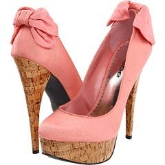 Bebe: Bows Heels, Cute Shoes, Pretty In Pink, Fashion Styles, Pink High Heels, Pink Heels, Bebe Kahlila, Pink Shoes, Bebe Heels