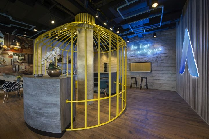 One Azure marketing office by Hello Embryo, Jakarta – Indonesia » Retail Design Blog