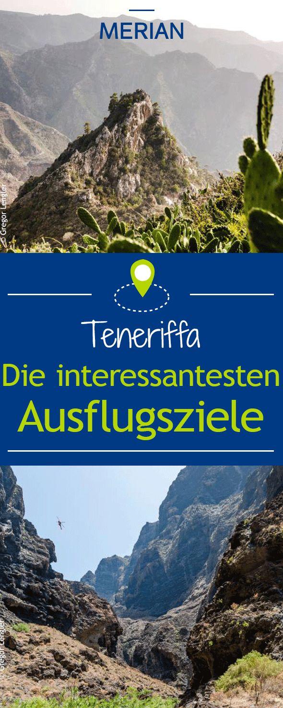 Teneriffa ist eine Insel zum Entdecken und Erleben: Bergtouren, Spaziergänge oder ein Zoobesuch – für jeden ist etwas dabei. Wir zeigen euch die interessantesten Ausflugsziele der Insel.