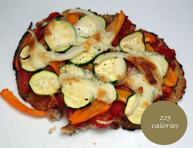 meg-made: Cauliflower pizza. 5:2 Fast Diet recipes