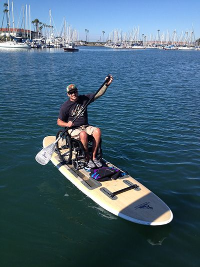 It was just last year that avid surfer and Hawaiian native Kawika Watt and his partner, James Rouse, embarked on an exciting and fulfilling venture. Their goal: to empower people with disabilities to discover independence, freedom and enrichment through participation in water sports. Their means to achieving it: Onit Ability Boards.  Adaptive Sports.  Adaptive Paddleboarding.  Adaptive paddling.