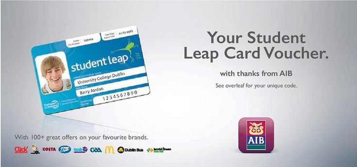 HOW TO GET YOUR CARD — Student Leap Card