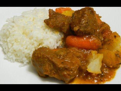 ▶ Carne Guisada or Puerto Rican Beef Stew - YouTube