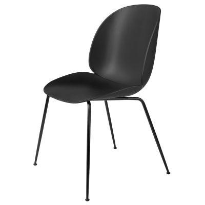 Beetle stol, svart/svart i gruppen Möbler / Stolar & Pallar / Stolar hos RUM21.se (1030481)