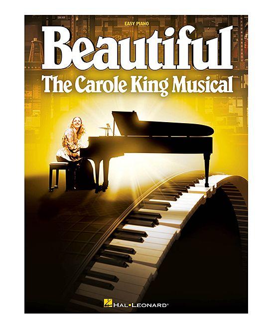 Beautiful Carole King Piano Sheet Music Paperback