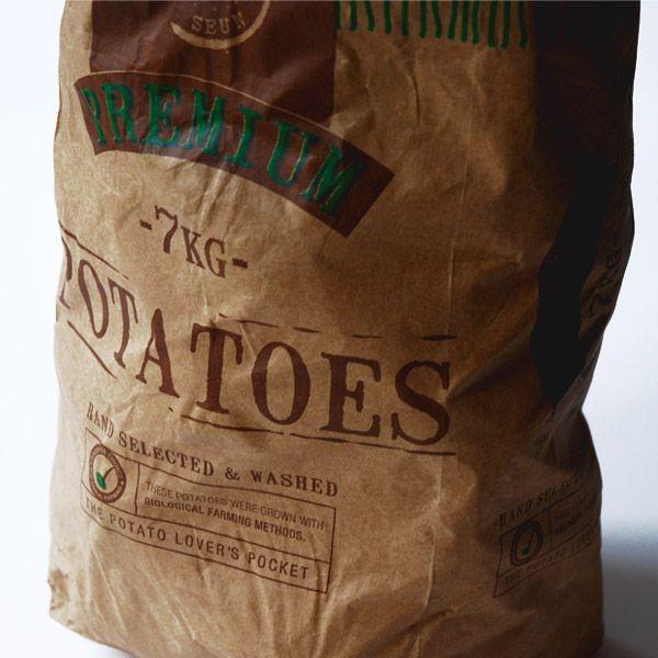 #potato #bag design     www.elevenct.co.za