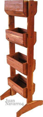 25 best ideas about macetero madera on pinterest - Maceteros de madera ...