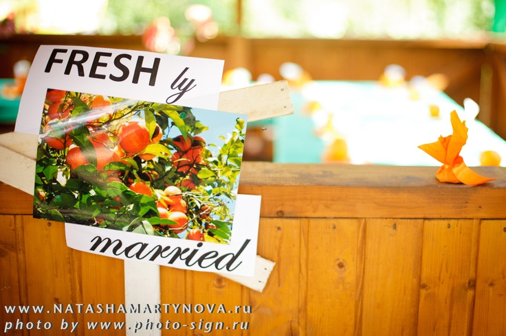 orange wedding, idea for wedding, openair