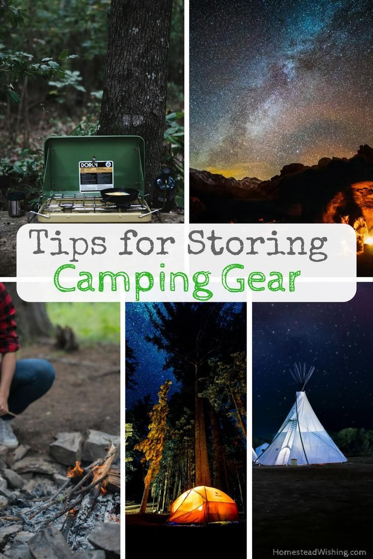 What are the best ways for storing camping gear? How do you keep camping gear in good condition? Storing-camping-gear, keeping-camping-gear | Homestead Wishing, Author Kristi Wheeler | http://homesteadwishing.com/storing-camping-gear/ |
