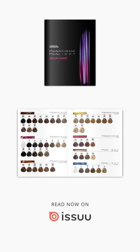 Loral Color Chart Diarichesse Dialight Hair Pinterest