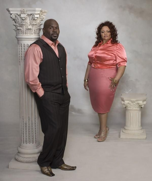Statistics say the current divorce rate is 50%. That means 1 out of every 2 marriages end in divorce. They estimate that the statistic is higher among blacks. But, those statistics don't have to be true for YOU. Marriage--BLACK marriages--can and DO last.    [In this photo: David and Tamela Mann; married 25 years]