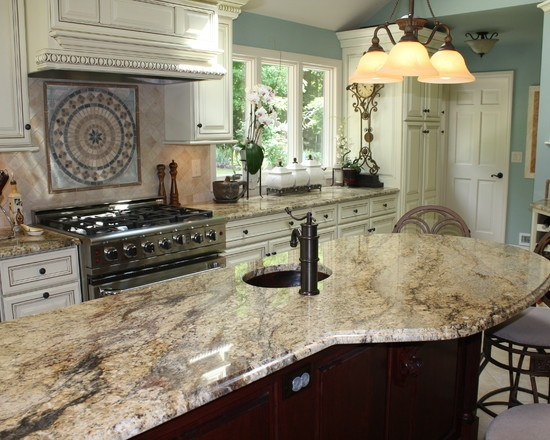 Beautiful Kitchen Cabinet and Granite Color Combinations