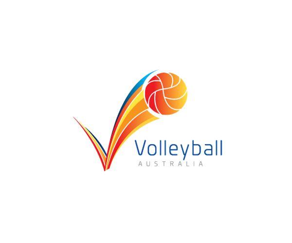 Austral-Volleyball-Club-logo-design